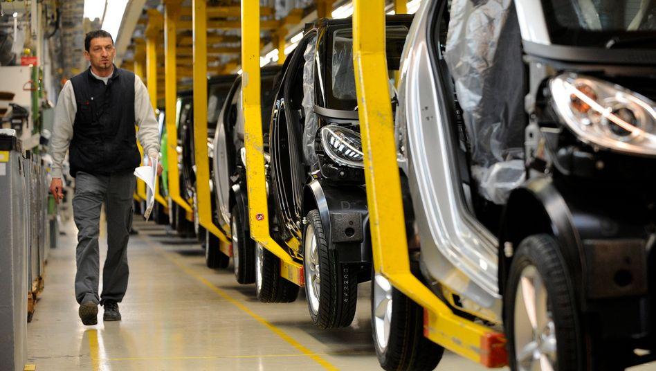 Smart-Fabrik in Hambach (Archivbild): Produktion des Kleinwagens läuft – vorerst – weiter