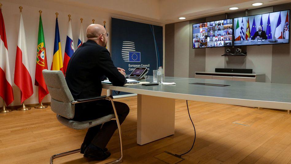 Debatte über Lockerung der Corona-Maßnahmen verfrüht VIRUS/ROUNDUP 2/Merkel