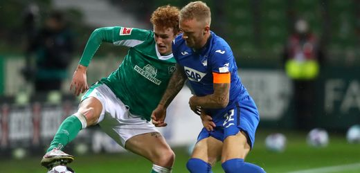 Fußball-Bundesliga: Werder Bremen spielt remis gegen TSG Hoffenheim
