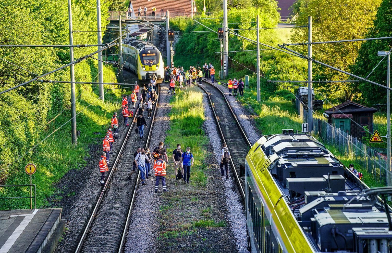 14-Jährige in Oppenweiler wird von Zug erfasst und stirbt