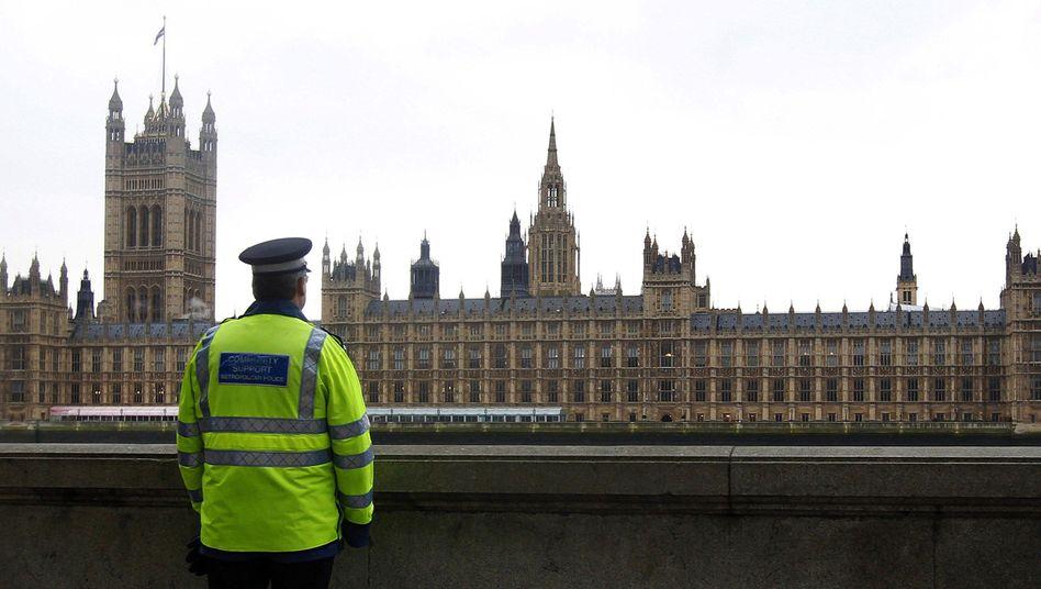 Britischer Polizist in London: Beten für die Sicherheit