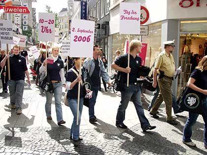 Inszenierte Demo in Wuppertal: Reine Werbemaßnahme