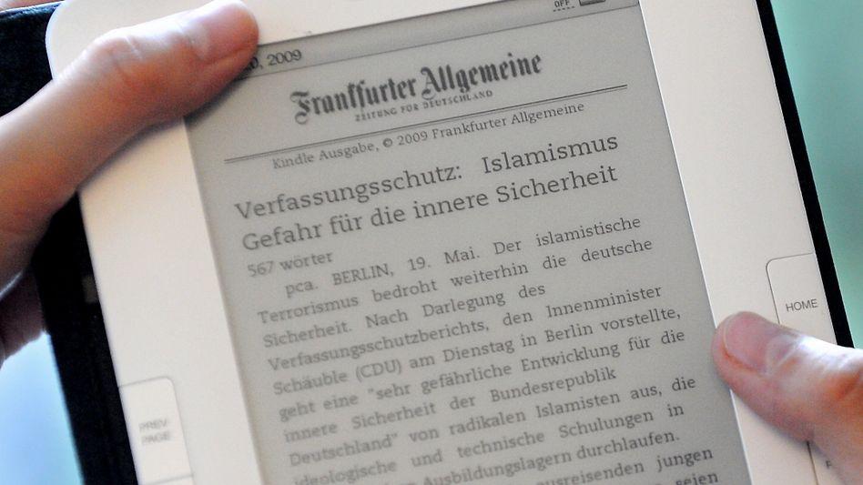 Amazon Kindle mit gekaufter Digital-Zeitung: Ohne Abo auch kein Zugriff aufs Archiv
