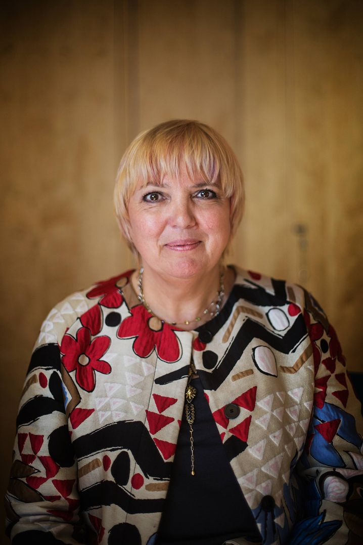 Green Party politician Claudia Roth