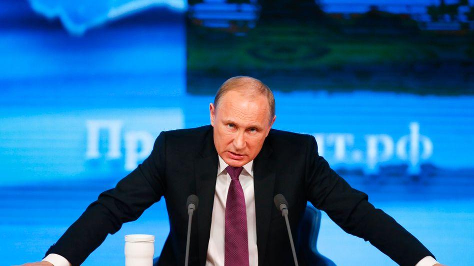 Putin: Halbwahrheiten und falsche Details