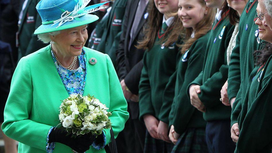 Königin Elizabeth II zu Besuch in Irland