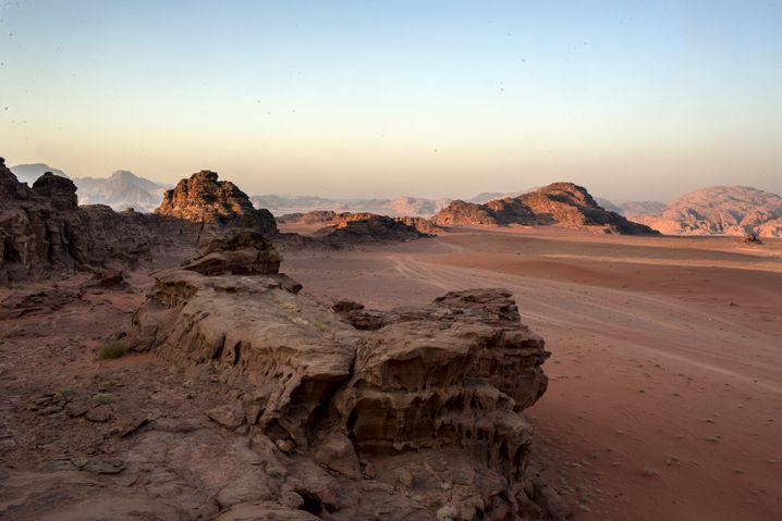 Wadi Rum in Jordanien: Eine fleischfressende Sonne und Sandstürme