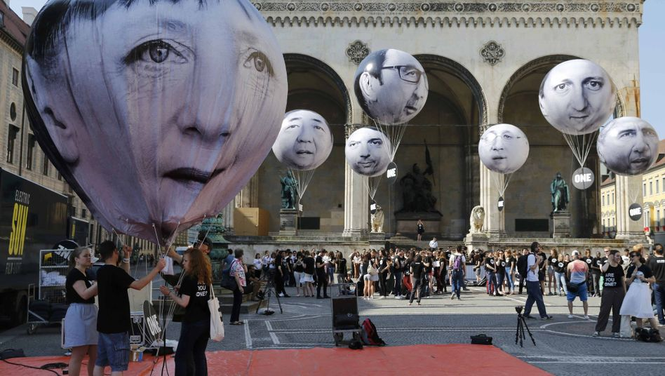 G7-Protest in München am Donnerstag: Warum gerade diese sieben?