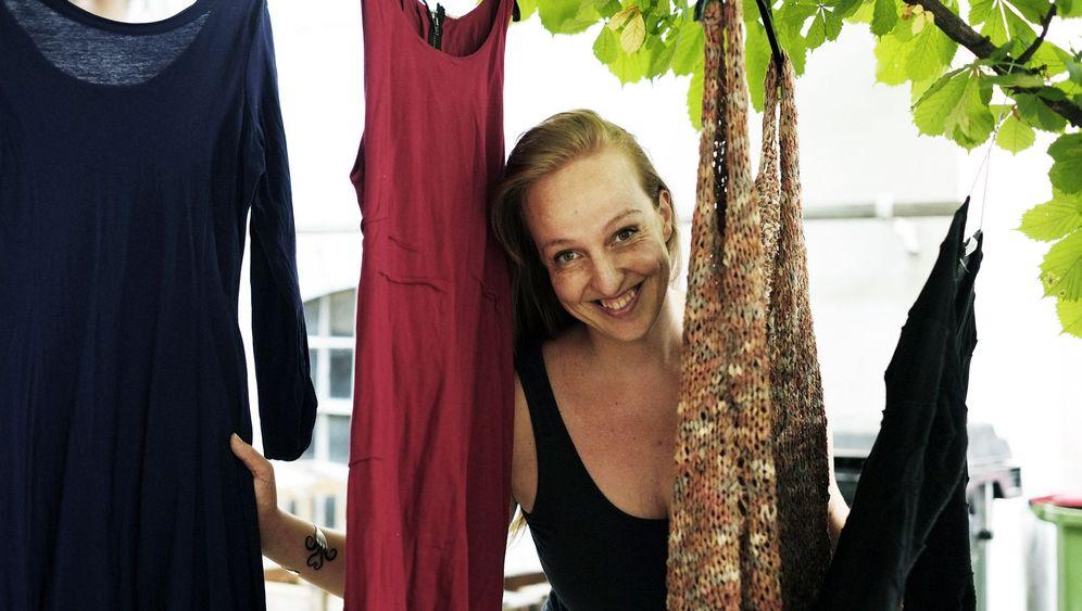Shopping-Verzicht: Nunu Kallers leerer Warenkorb