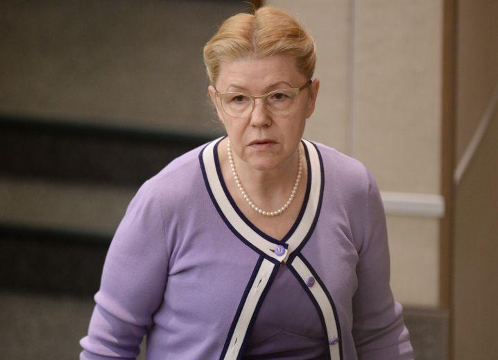 Duma-Abgeordnete Jelena Misulina