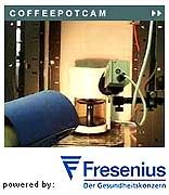 """Vorschau: So ähnlich wird die Webcam aussehen, die künftig Bilder des Internet-Artefakts """"Trojan Room Coffee Pot"""" live aus der Redaktion von SPIEGEL ONLINE übertragen wird"""