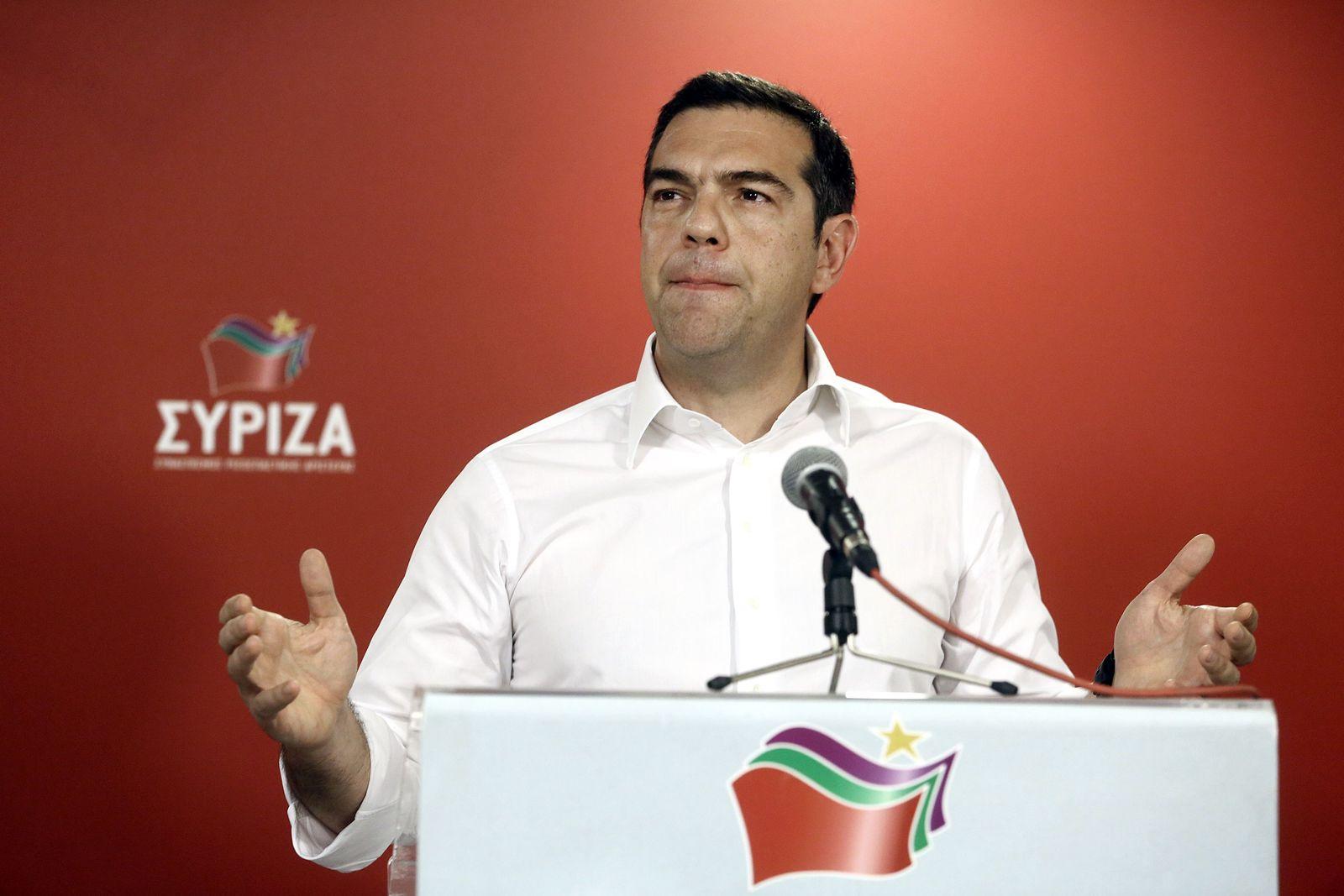 Tsipras Griechenland