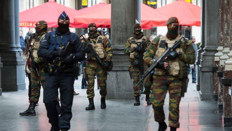 Brüssel: Ausnahmezustand im Kampf gegen den Terror