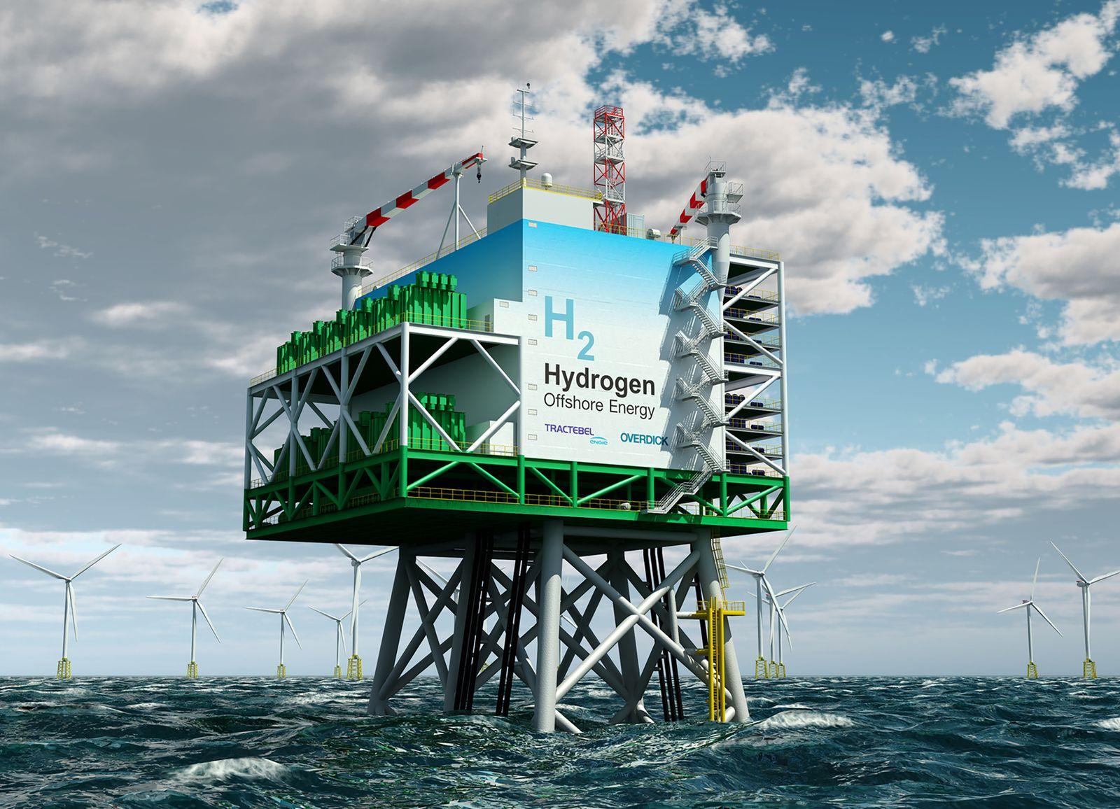 Wasserstoff Offshore