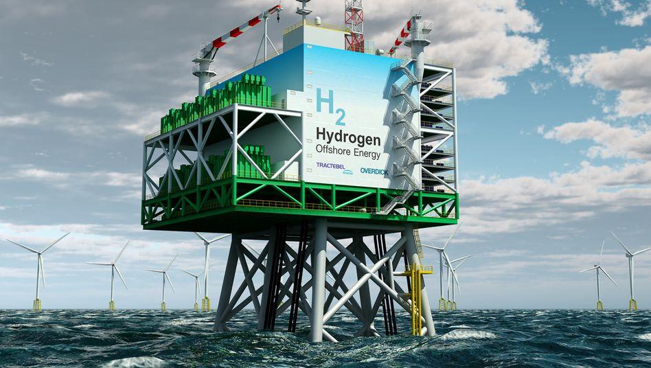 Der Wasserstoff der Zukunft wird auf dem Meer erzeugt
