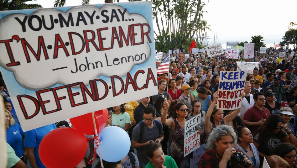 Dreamer-Protest in den USA (Archivbild)