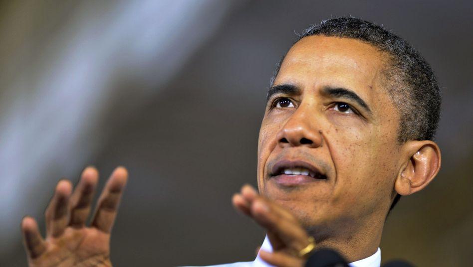 """US-Präsident Obama: """"Das ist ein großer Schritt"""""""