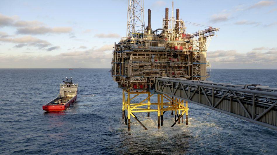 Ölplattform vor Norwegen (Archivbild): Steigende Nachfrage