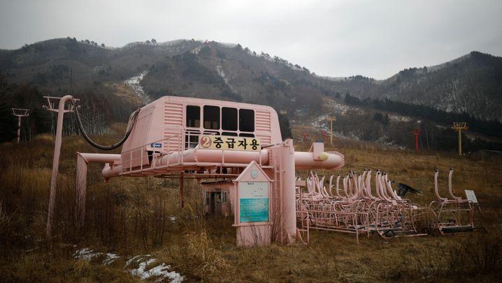 Lost Place in Südkorea: Die leeren Pisten von Goseong