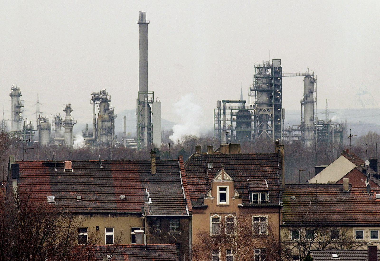 NICHT VERWENDEN Strukturwandel Ruhrgebiet / Gelsenkirchen