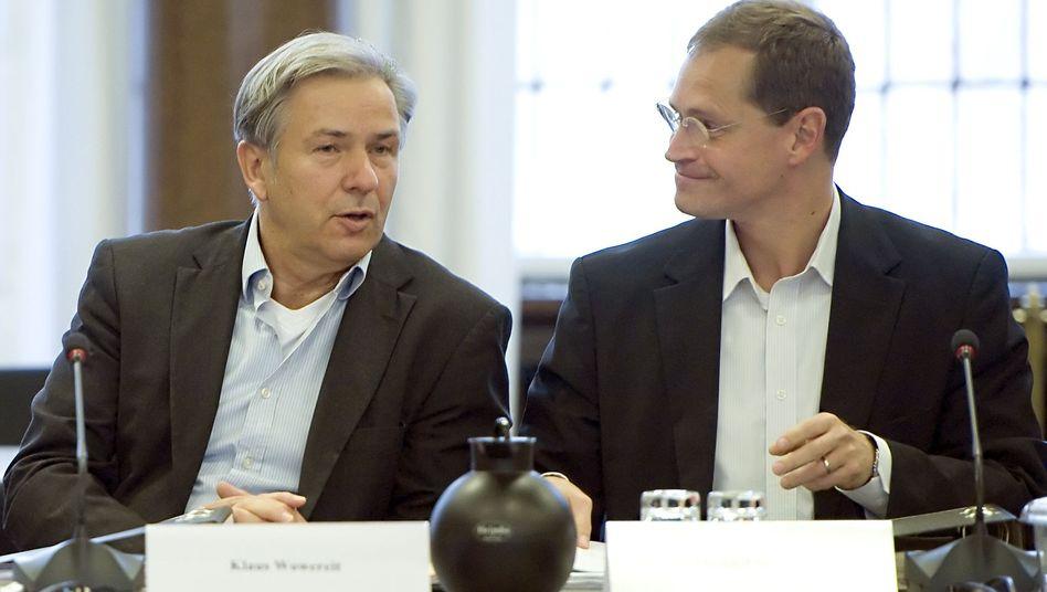 Verhandlungen in Berlin: Wowereit lässt Koalitionsgespräche mit Grünen platzen
