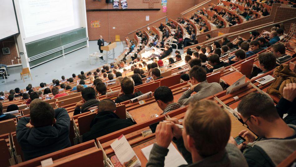 Erstsemester in Kassel (Archiv): Stärkerer Zuschnitt auf Arbeitsmarkt