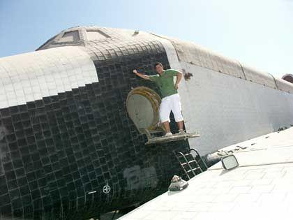 """""""Buran 002"""" in Bahrein: Sowjet-Shuttle soll in den nächsten Monaten nach Deutschland kommen"""
