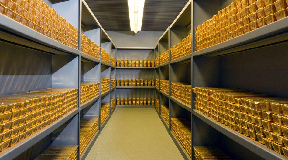 Goldbarren der Bundesbank: Legendärer Schatz