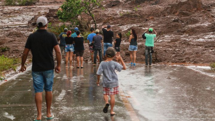 Dammbruch: Verheerende Schlammlawine in Brasilien