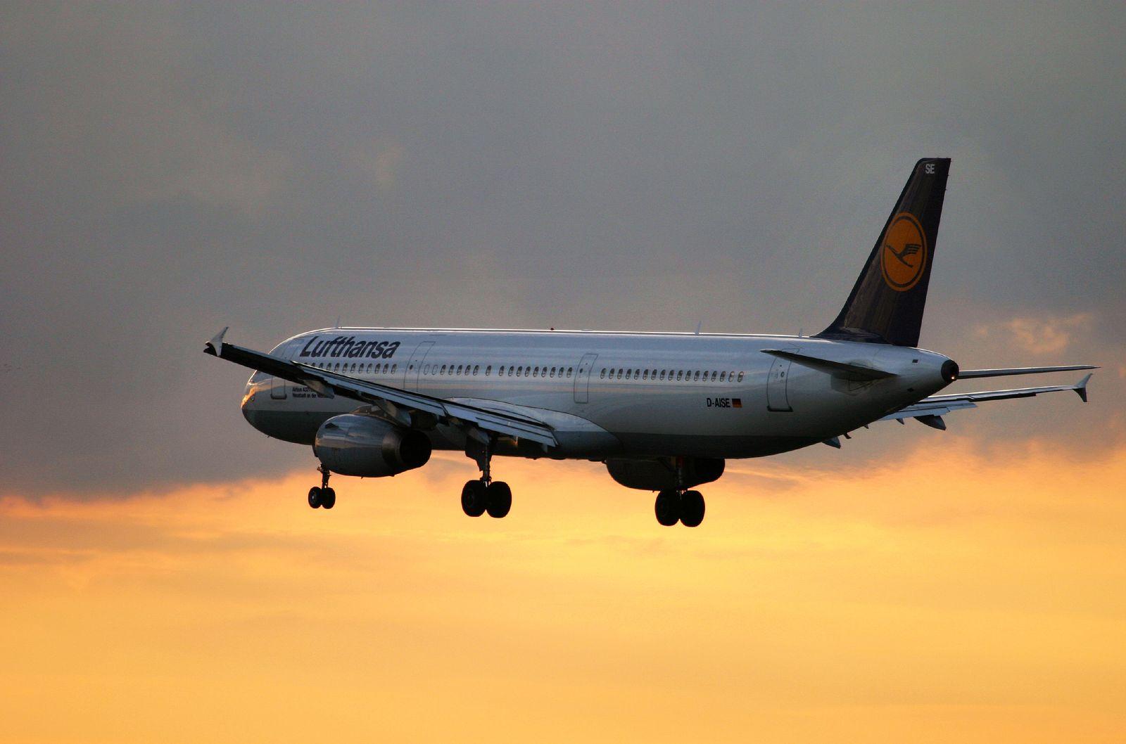 Lufthansa A321 im Anflug