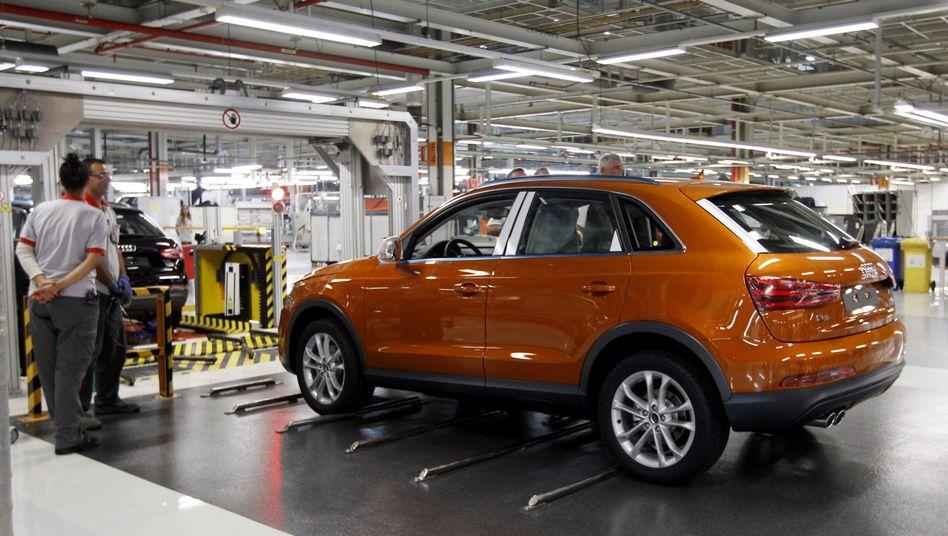 Audi-Produktion im katalanischen Martorell (Archiv)
