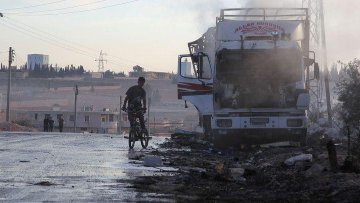 Syrien: Heimtückischer Angriff auf Hilfskonvoi