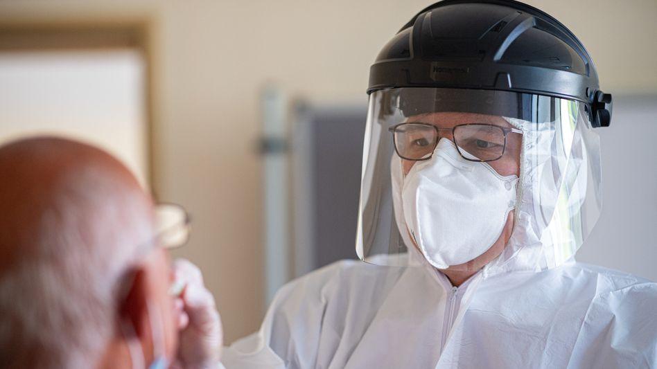 Coronavirus-Test in Gütersloh