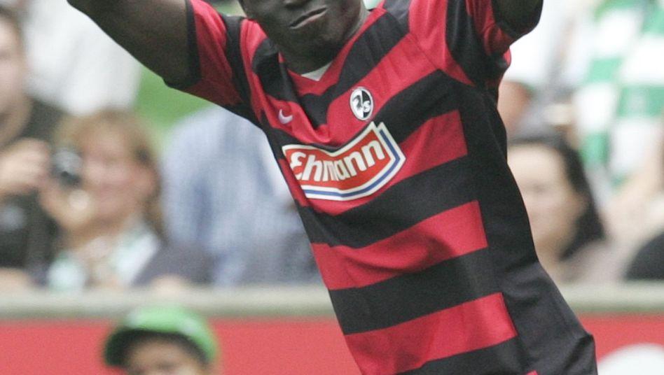 Freiburg-Stürmer Cissé: Wechsel zu Newcastle United naht