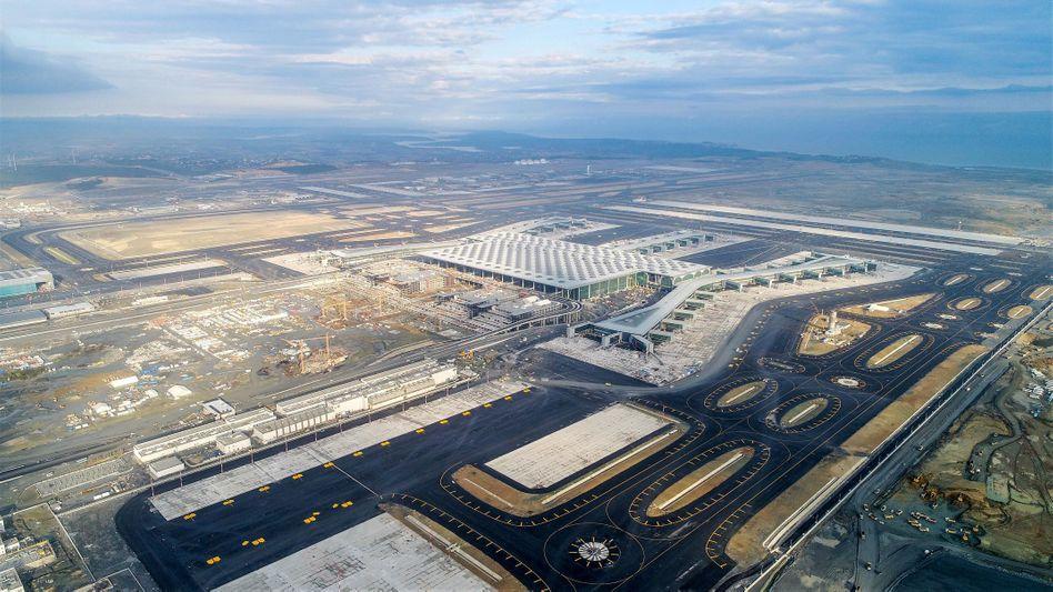 Der neue Flughafen Istanbul (Archivbild)