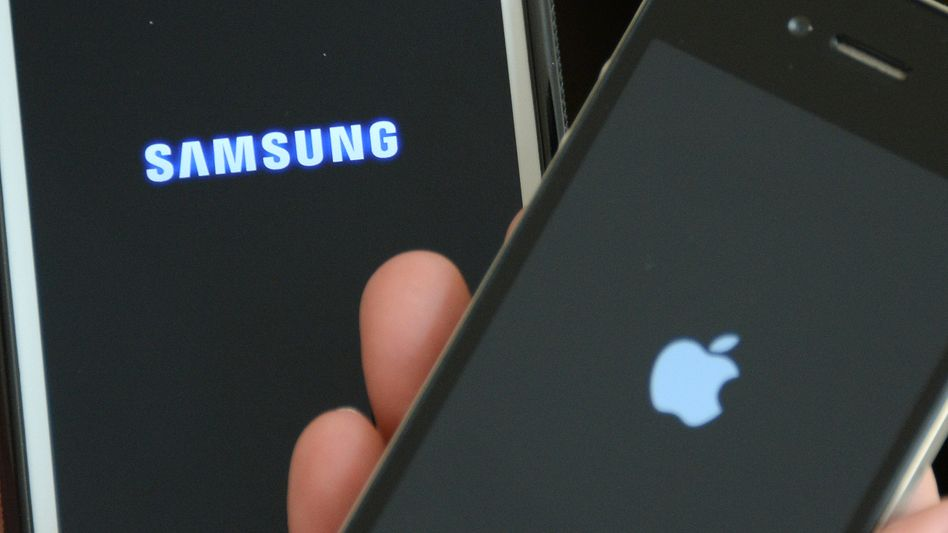 Samsung Galaxy S3 und Apple iPhone 4s
