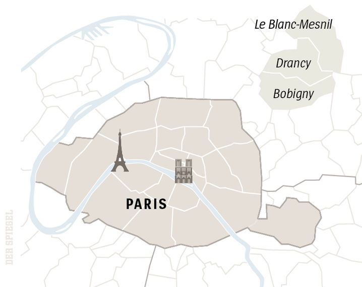 Paris and the banlieues