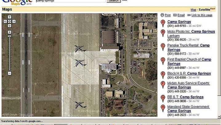 Satellitenbilder: Schöner spionieren mit Google Maps