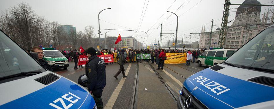 Dresden am 19. Februar: Polizei spähte Demonstranten großflächig aus