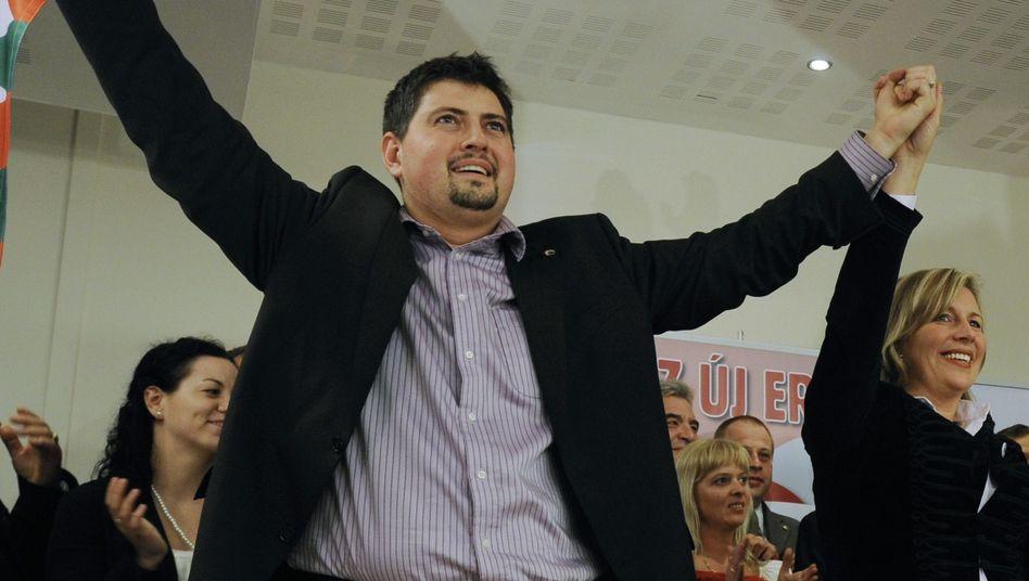 Ultrarechter Csanad Szegedi (2009): Stolpern über den eigenen Stammbaum