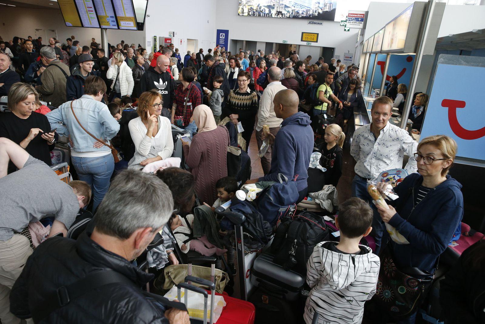 Flüge wegen Streiks in Brüssel gestrichen