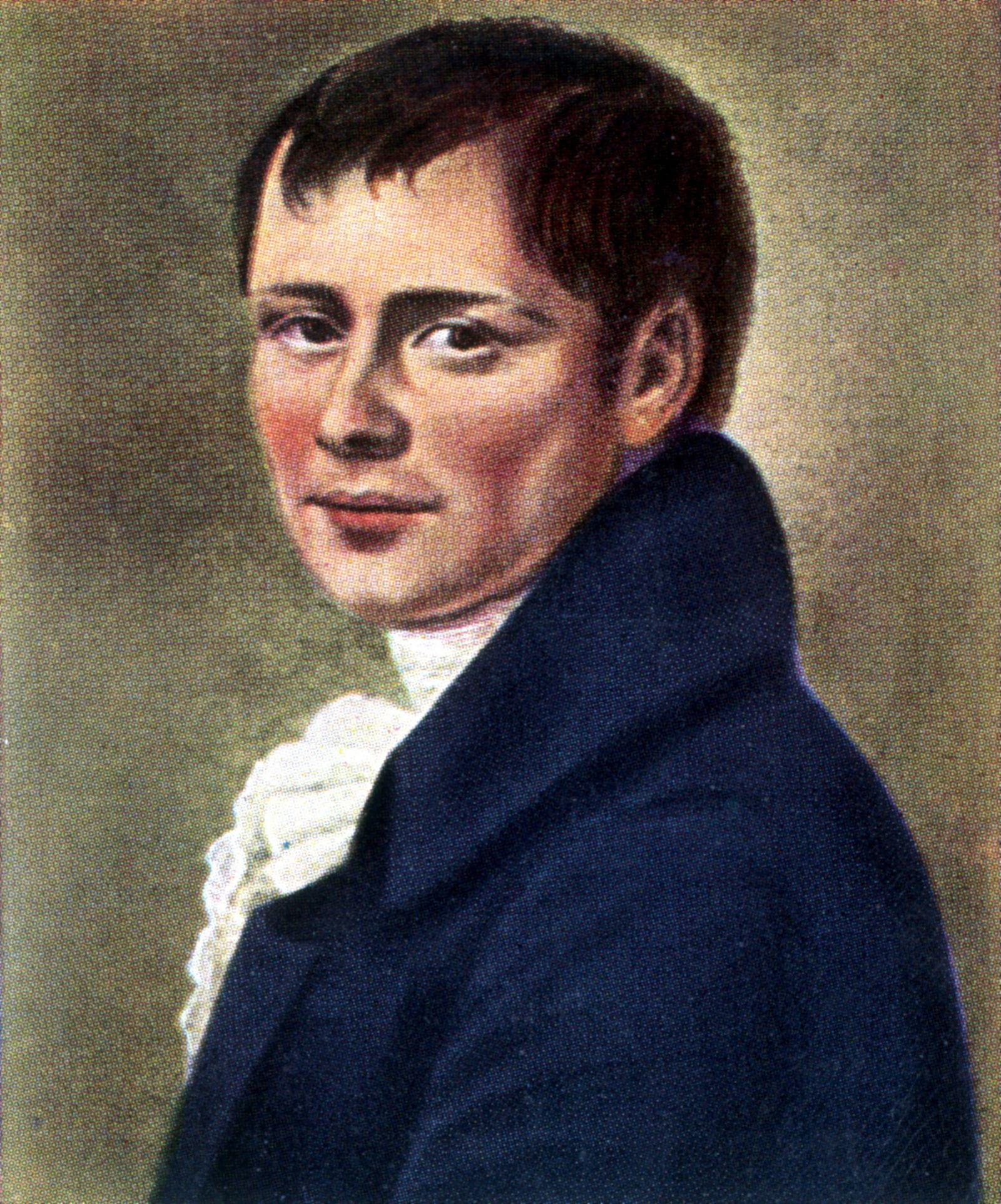 Kleist, Heinrich von - Schriftsteller, D/ nach einem Gemaelde v. Graff