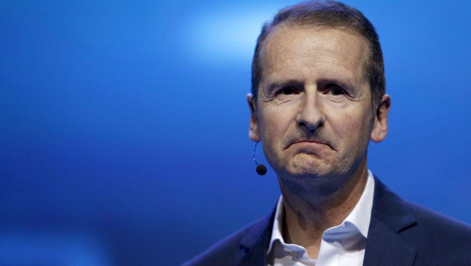 Herbert Diess, seit April 2018 Vorstandschef der Volkswagen AG