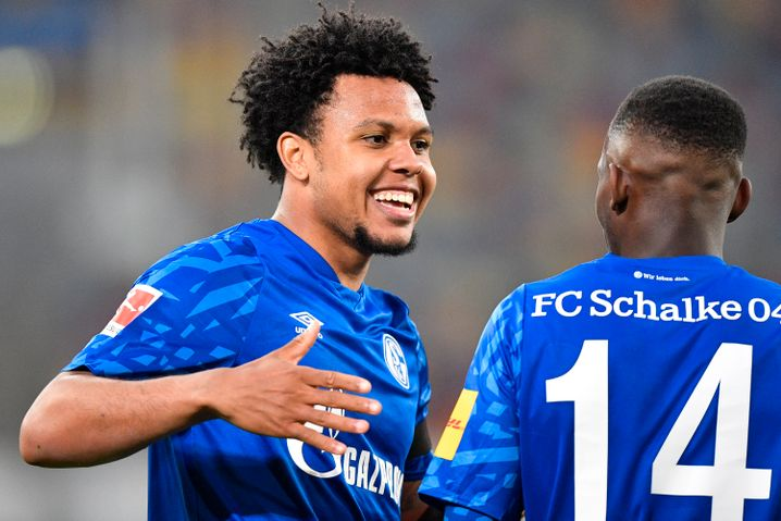 Schalkes Mittelfeldspieler Weston McKennie