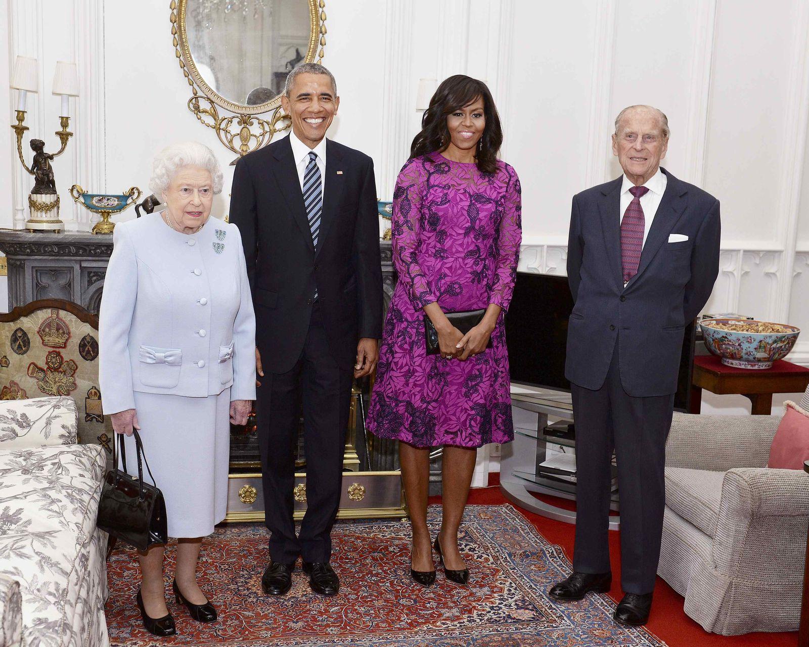 Obama und Queen