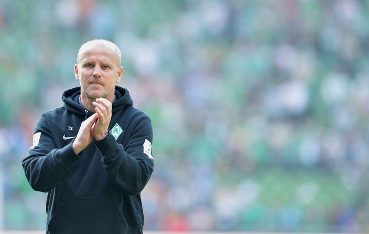 Thomas Schaaf in seiner letzten Saison (2013) als Werder-Cheftrainer