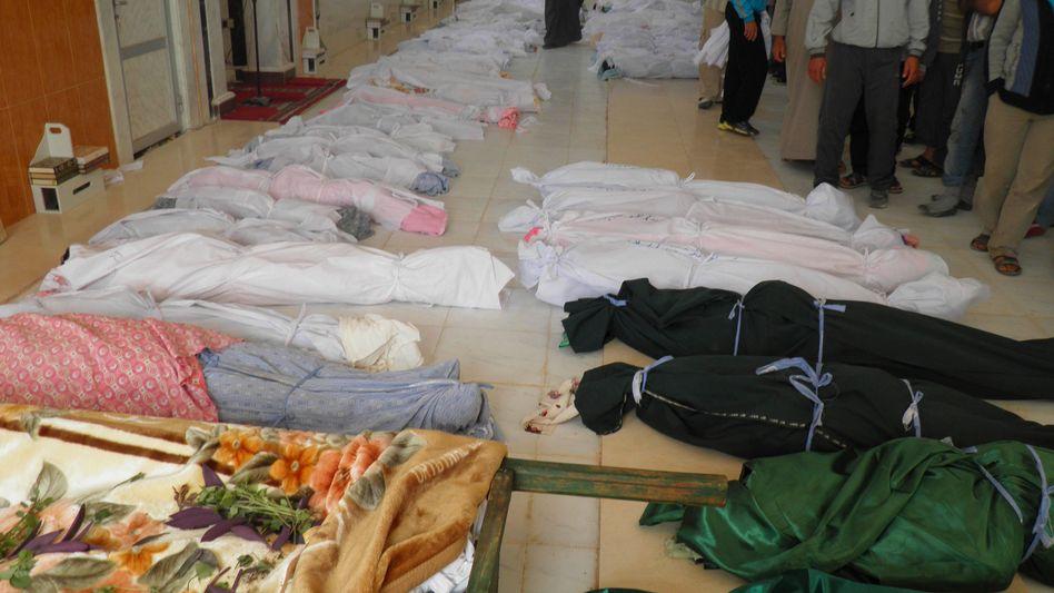 Leichen in Hula: Uno-Beobachter bestätigten den Tod von 92 Menschen, 32 davon Kinder