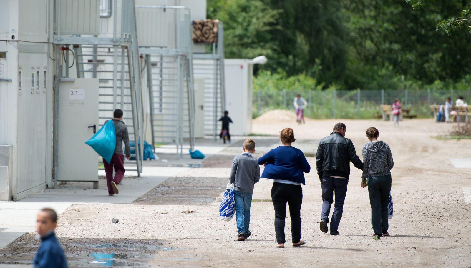Erstaufnahme für Flüchtlinge in Hamburg