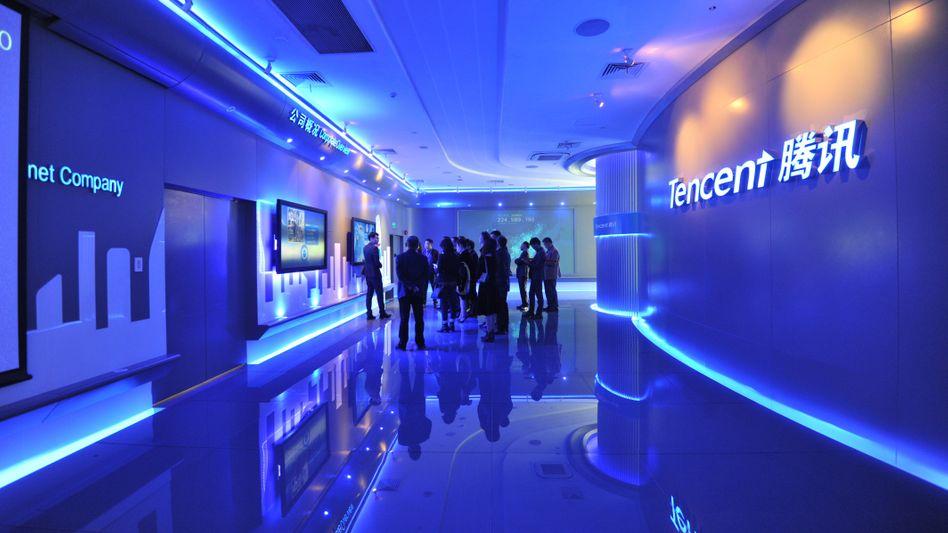 """Tencent-Zentrale in Shenzhen: """"Kraftwerk der Innovation"""""""