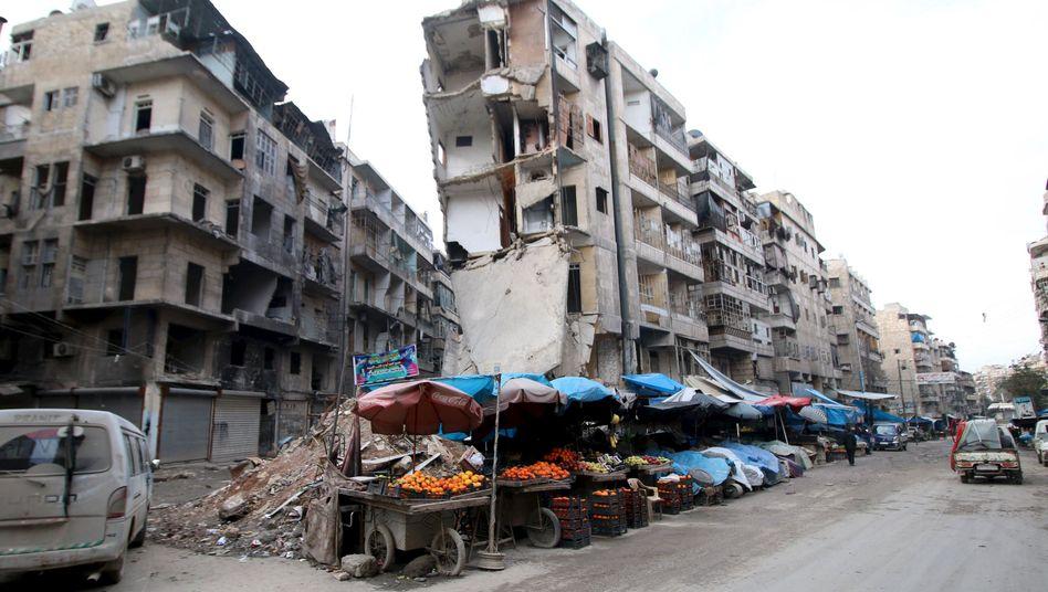 Syrienkrieg: Russland bestreitet Verantwortung für Massenflucht aus Aleppo